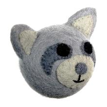 Wooly Wonks Woodland Dog Toy - Raccoon