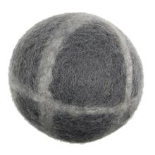 Wooly Wonks Woodland Dog Toy - Gray Stone Ball