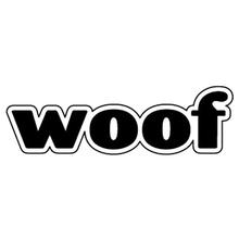 Word Dog Magnet - Woof