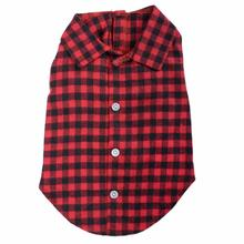 Worthy Dog Buffalo Plaid Dog Shirt