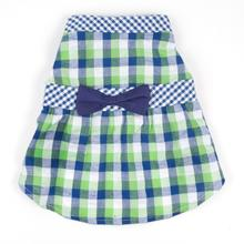 Worthy Dog Navy Checkered Dog Dress
