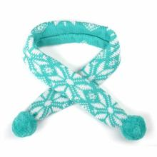 Worthy Dog Ski Lodge Dog Scarf - Teal