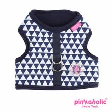 Xena Pinka Dog Harness by Pinkaholic - Navy