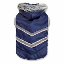 Zack and Zoey Arctic Reflective Coat - Navy Blue