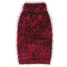 Zack and Zoey Elements Hairy Yarn Dog Sweater - Red