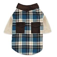 Zack and Zoey Flannel Shirt Dog Shirt/Jacket