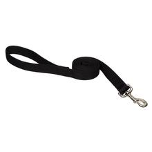 Zack and Zoey Nylon Dog Leash - Jet Black