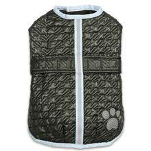 Zack and Zoey Quilted Thermal Nor'Easter Dog Coat - Green