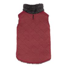 Zack and Zoey ThermaPet Quilted Dog Vest - Red
