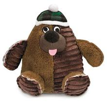 Zanies Blizzard Bear Dog Toy - Hat