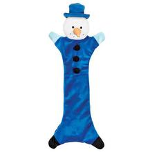 Zanies Festive Unstuffies Dog Toy - Snowman