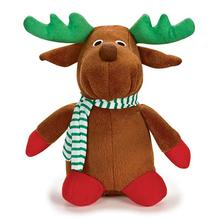 Zanies Holiday Friends Dog Toy - Reindeer
