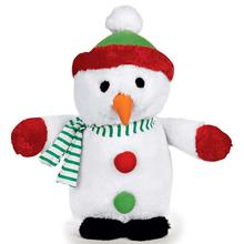 Zanies Holiday Friends Dog Toy - Snowman