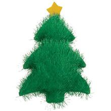Zanies Holiday Fuzzles Dog Toy - Tree