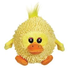 Zanies Silly Shaggies Dog Toy - Duck