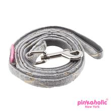 Zeal Dog Leash by Pinkaholic - Gray