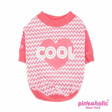 Ziggy Dog Shirt by Pinkaholic - Pink