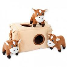 ZippyPaws Burrow Dog Toy - Horse 'n Hay