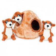 ZippyPaws Burrow Dog Toy - Meerkat Den