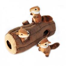 ZippyPaws Burrow Dog Toy - X-Large Burrow Log