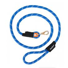 ZippyPaws CLIMBERS Mountain Climbing Rope Dog Leash - Blue