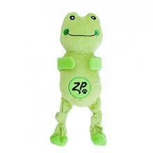 ZippyPaws Corduroy Cuddlerz Dog Toy - Frog