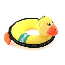 ZippyPaws Floaterz with Z-Stitch Dog Toy - Duck
