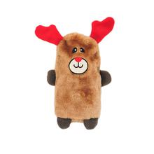 ZippyPaws Holiday Colossal Buddie Dog Toy - Reindeer