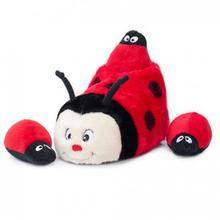 ZippyPaws Slipper Nest Dog Toy - Ladybug