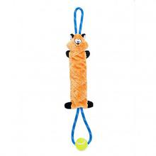 ZippyPaws SqueakieTugz Dog Toy - Fox