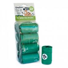 ZippyPaws Unscented Pick-Up Waste Bags - Green